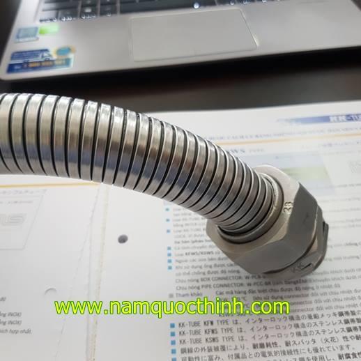 ống ruột gà inox nippon seam chống cháy nổ
