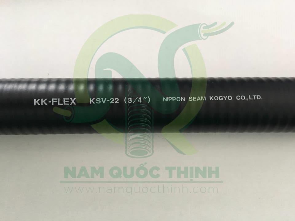 Ống ruột gà inox 304 bọc nhựa luồn dây điện D25